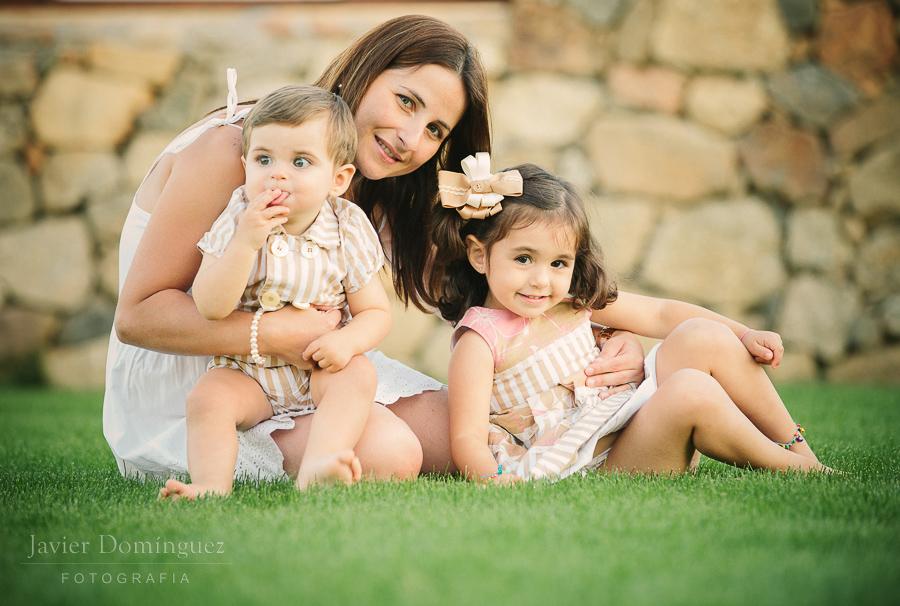 Cayetana y Fran ( Fotografía de familia )