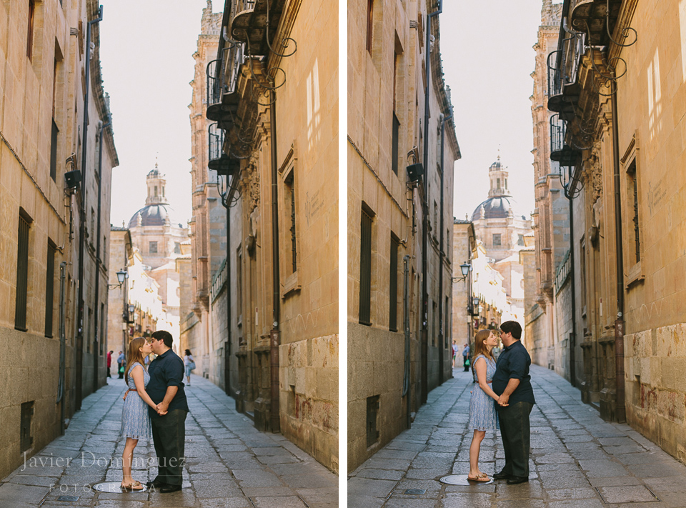 John + Jennifer (engagement session in Salamanca Spain)