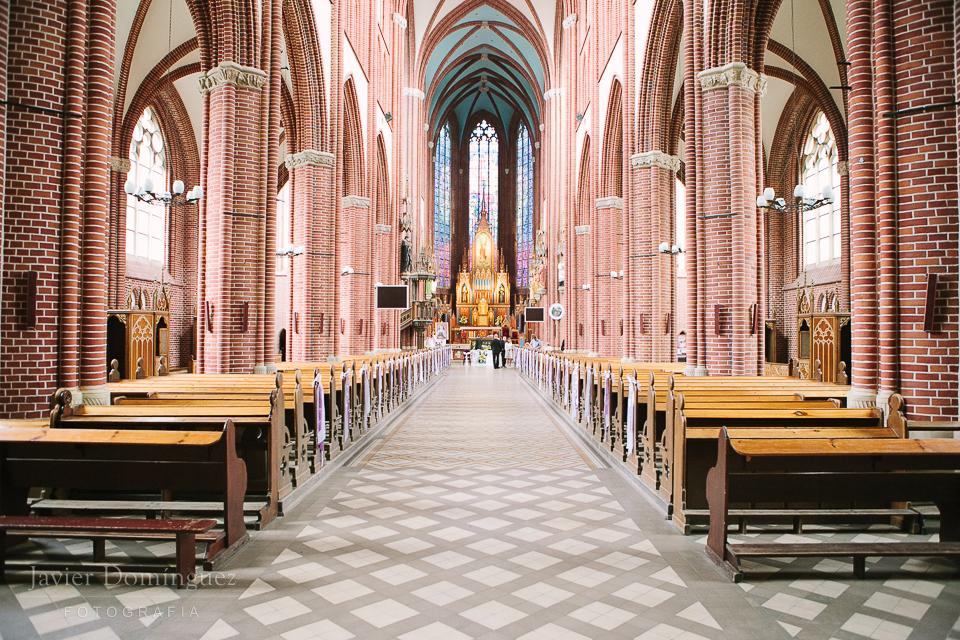 Iglesia - Agata + Michał . Boda en Wroclaw – Polonia