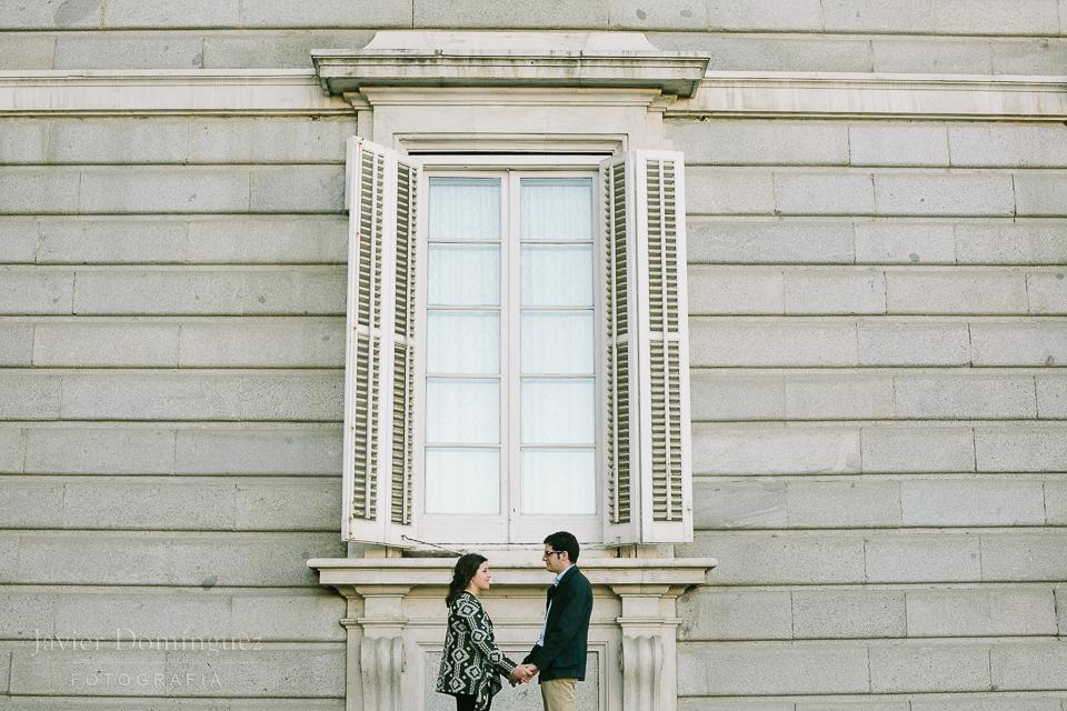 Carlos y María preboda en Madrid